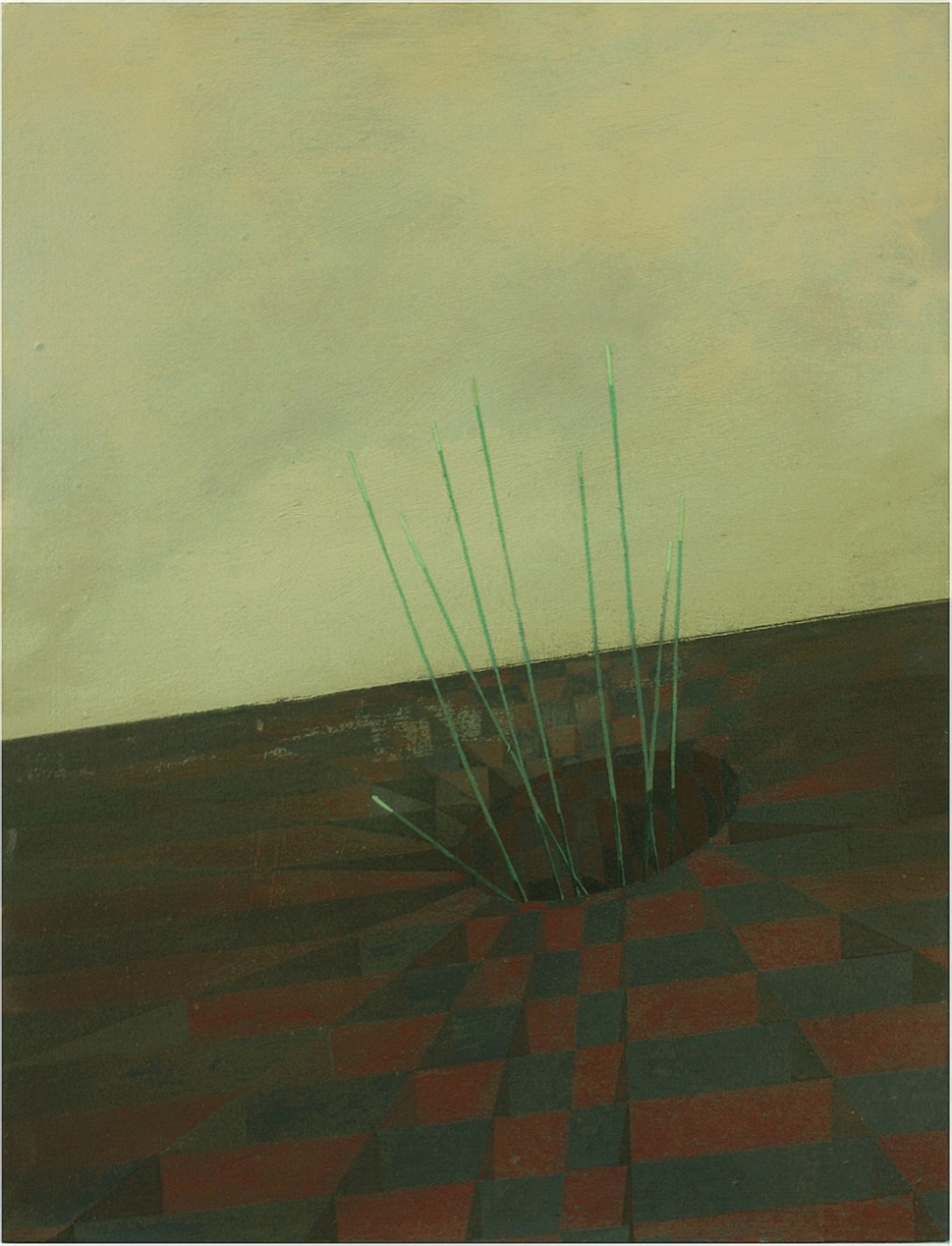 Sink hole, oil on canvas, 2012.